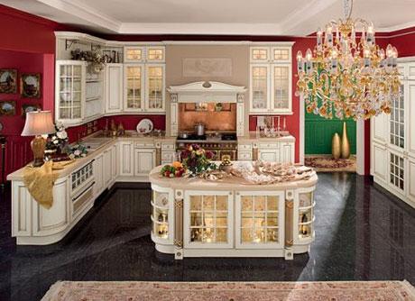 Інтер'єр кухні в класичному стилі: 5 канонів дизайну