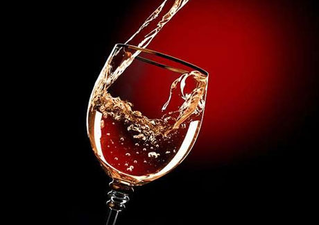 бокал сухого вина