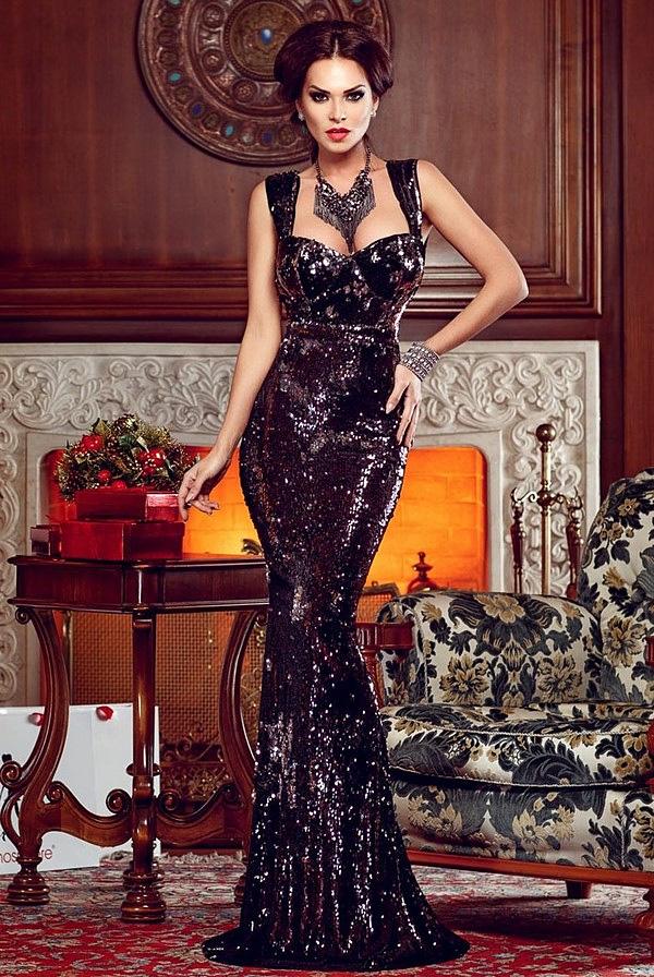 Красиві новорічні сукні 2019 — ідеї у чому зустріти Новий рік ea2fd957ac7e3