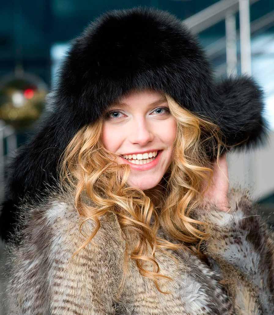 Хутряні шапки модна зима 1f3736d647982