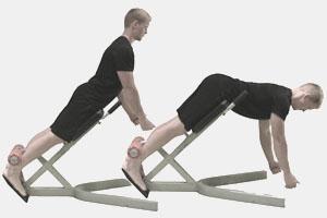Наклонные упражнения для спины