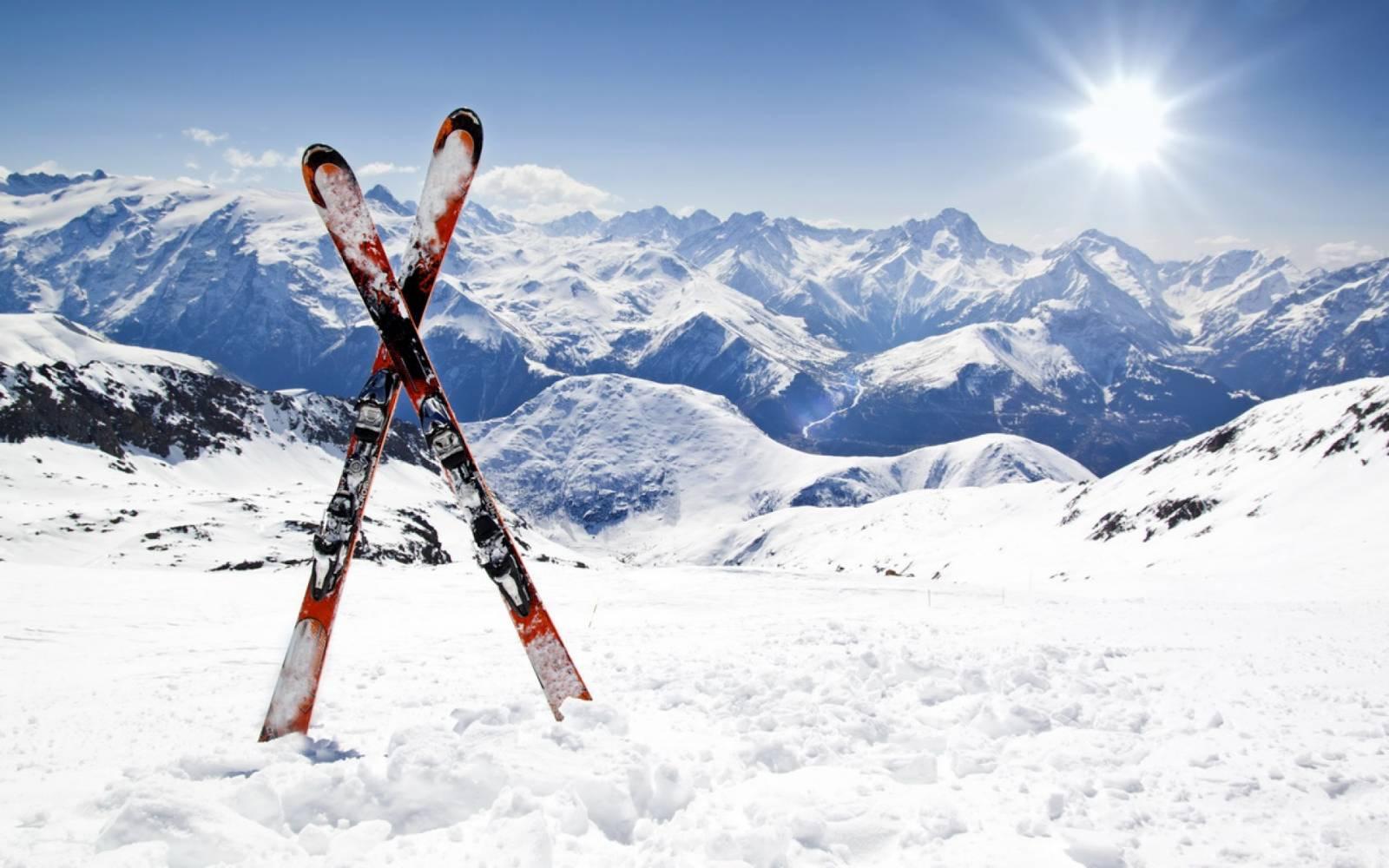 Горные лыжи на новый год 2017