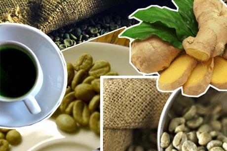 Диета «Зеленый кофе с имбирем»