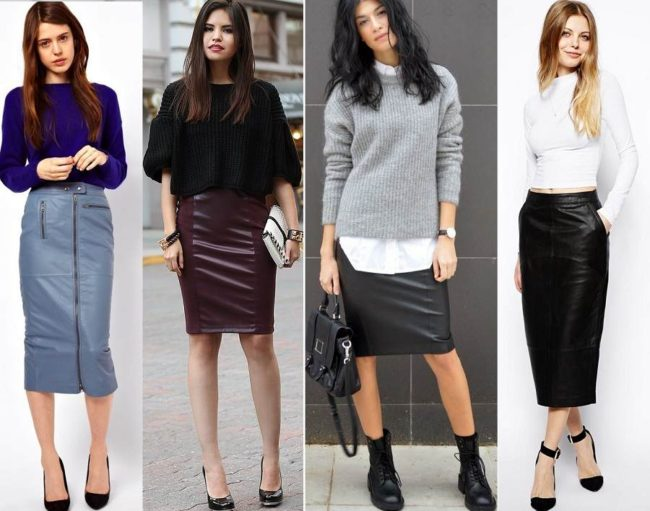 Модні тенденції спідниць. З чим носити сіру спідницю