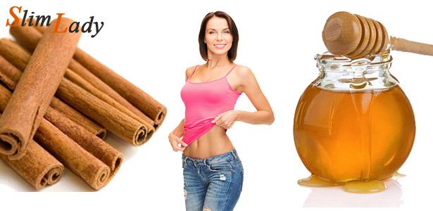 Как использовать мёд и корицу для похудения