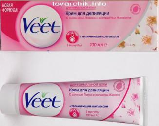 Как пользоваться кремом для депиляции veet