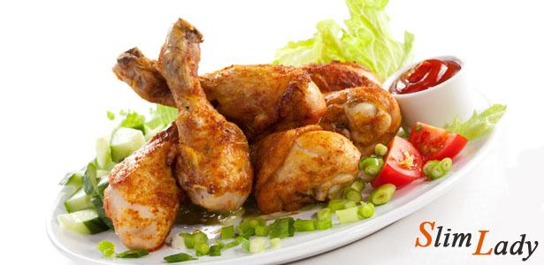 Курица с имбирем