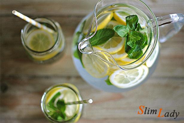 Мята с лимоном