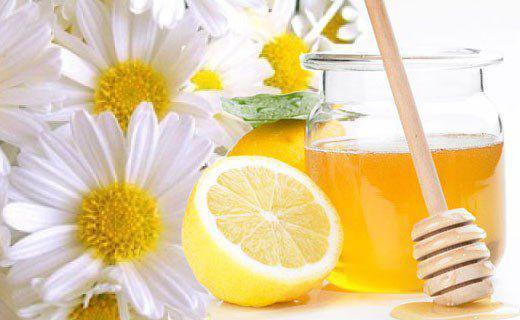 Маска для лица с медом и лимонмо