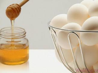 Маска для волос с яйцом и медом