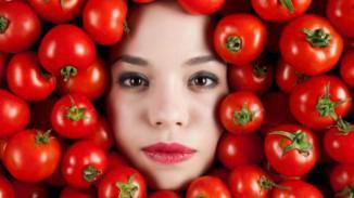 Маска для лица из помидор