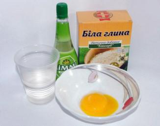 Рецепты домашних масок из белой глины: с яйцом, с медом, с репейным маслом