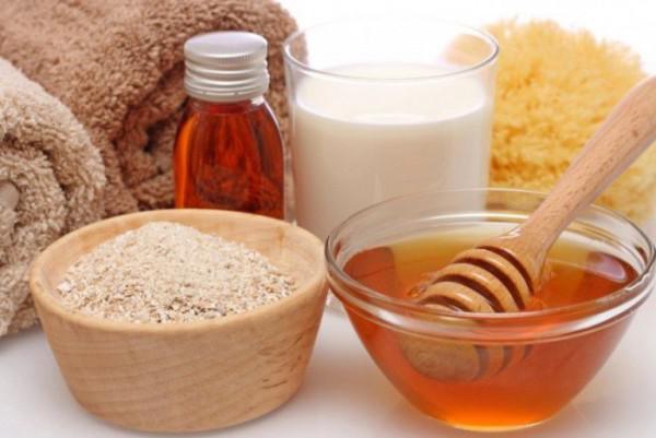 Маска с медом для лица от морщин