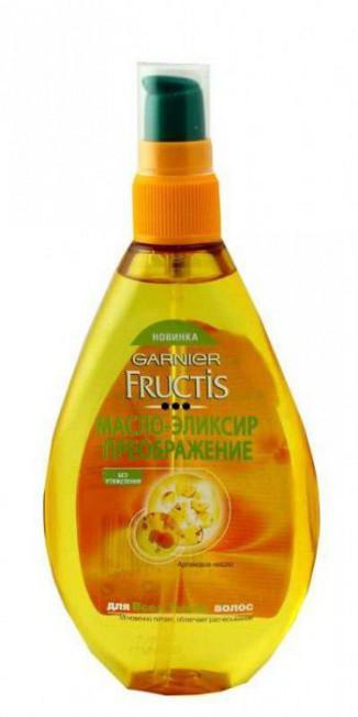 Масло для волос Преображение от Гарньер