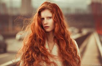 Медные оттенки красок для волос