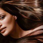 Мелирование темными прядями на темные волосы