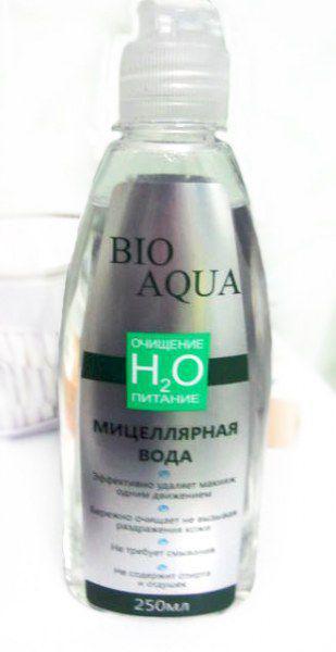 Мицеллярная вода bio aqua