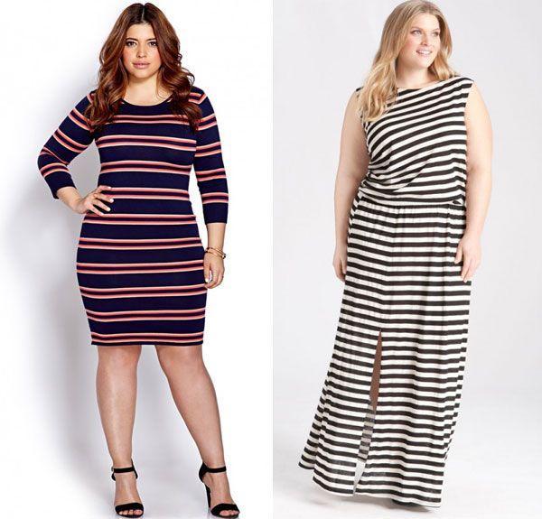 Мода для повних жінок 2018 9aefebb70afc1