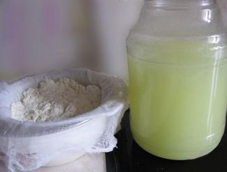 Молочная сыворотка для лица