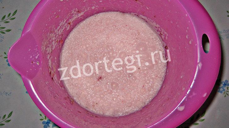 Полуфабрикат мороженого