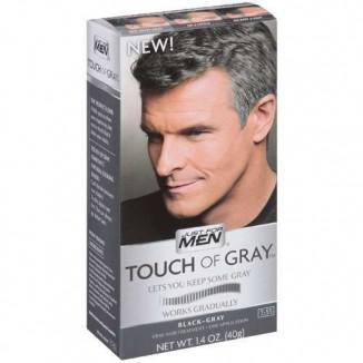 JustForMen Touch of Gray, мужская краска для волос с постепенным эффектом окрашивания