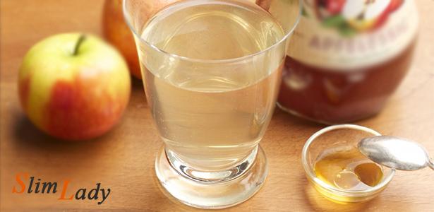 Правила похудения на мёде и уксусе