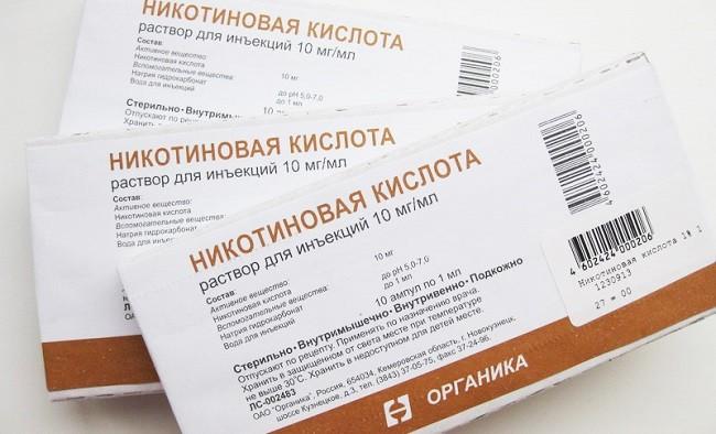 Застосування нікотинової кислоти