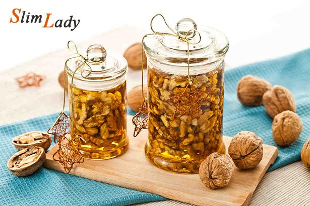 Вкусные и полезные рецепты с орехами и медом