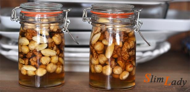 Что полезного есть в мёде с орехами