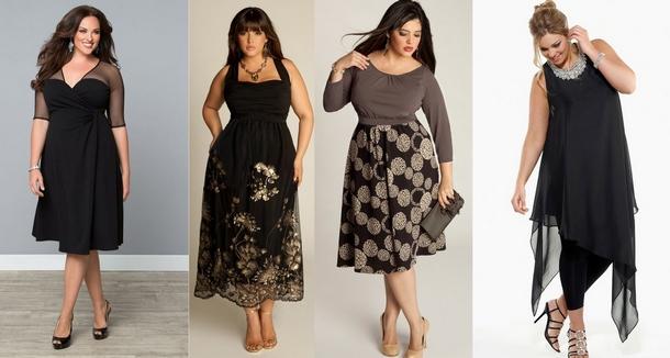 Мода для повних жінок 2018 07e960650c300