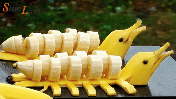 Что полезного в банане для женщин