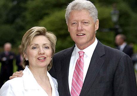 пара Клинтонов