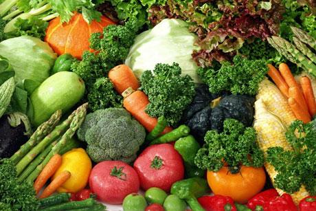 бескрахмальные овощи