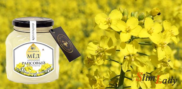 Химические составляющие рапсового меда