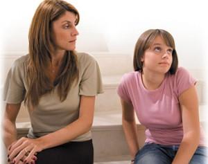 разговор с дочерью
