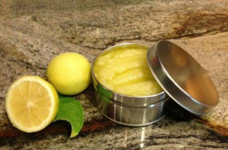Лимон для скраба