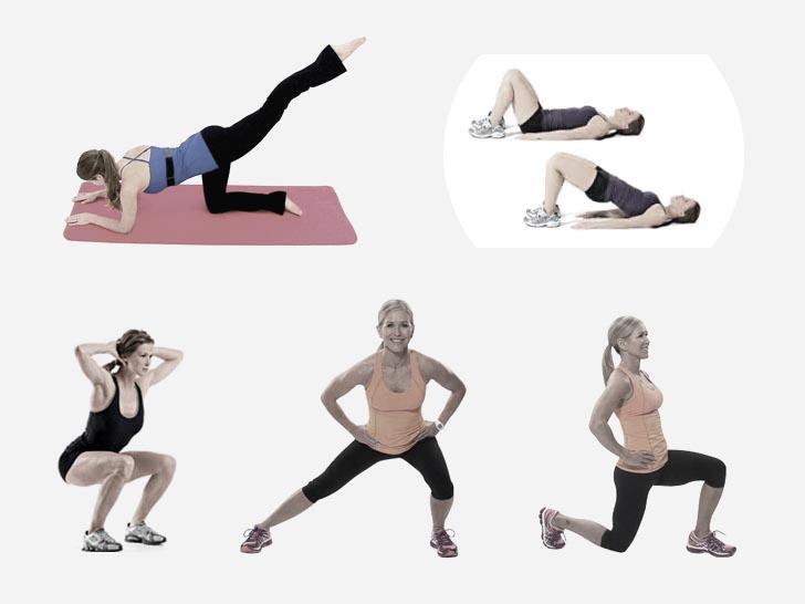 Упражнения с собственным весом для подтяжки ягодиц