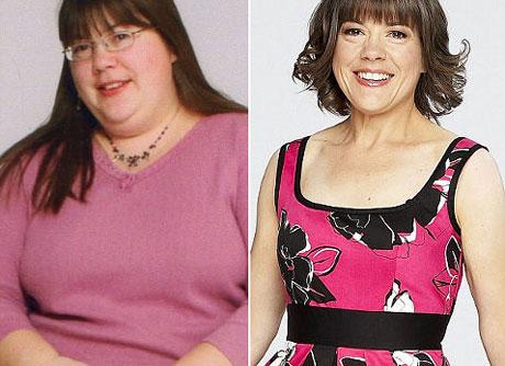 ДО и ПОСЛЕ похудения на щадящей диете