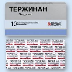Препарат Тержинан и его компоненты
