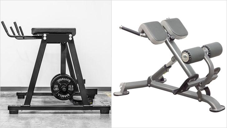 Два основных тренажера для мышц спины