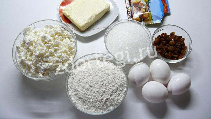Продукты для творожных кексов