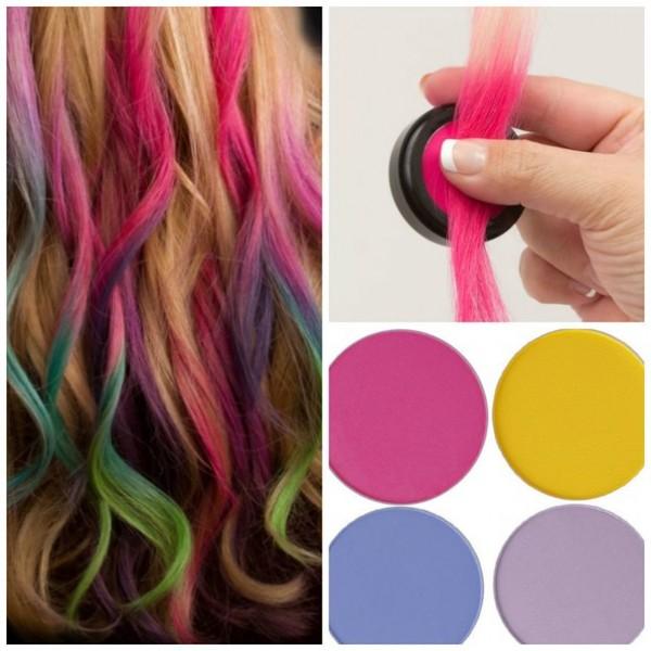Крейда для волосся, що таке і як використовувати