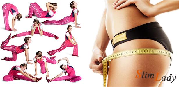 Комплекс упражнений поможет бедрам похудеть