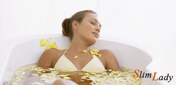 Пищевая сода для похудения - ванна