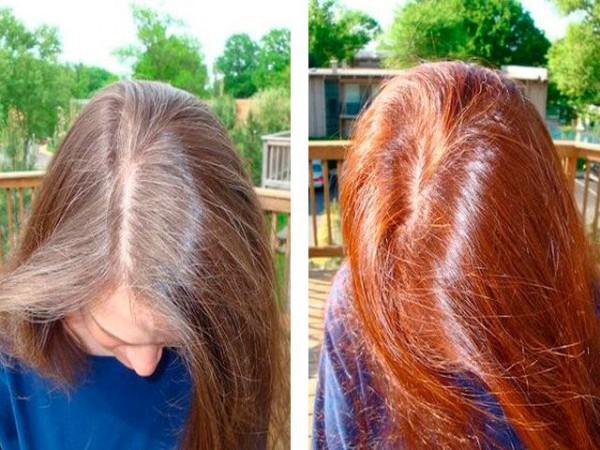 Окрашивание волос хной сколько