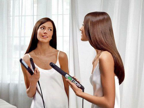 Как выбрать утюжок для выпрямления волос
