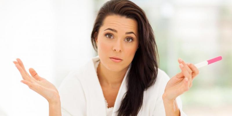 Женщина в недоумении