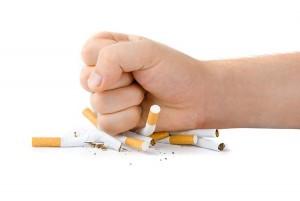Прекращение употребления алкогольных напитков и сигаре