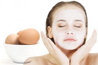Маска для лица с яичным белком